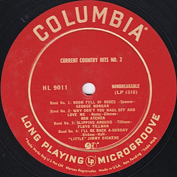 columbia 55 original gold label