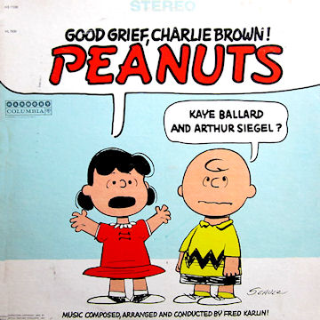 Kaye Ballard And Arthur Siegel Peanuts
