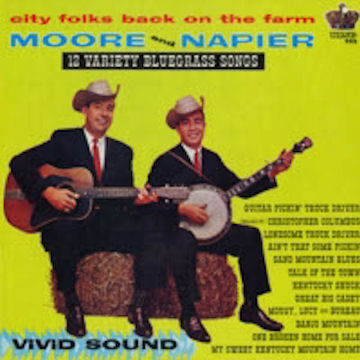 Moore Napier 12 Variety Bluegrass Songs