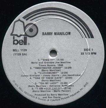Bell Album Discography Part 1