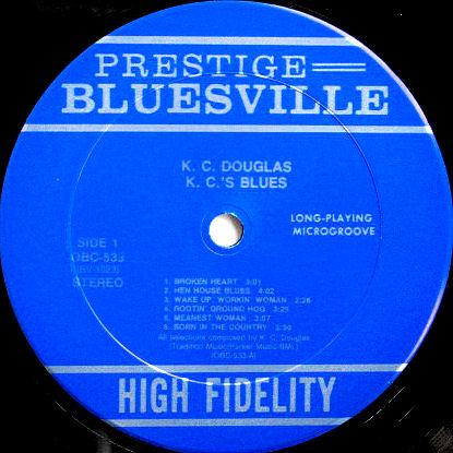 Prestige Bluesville Album Discography