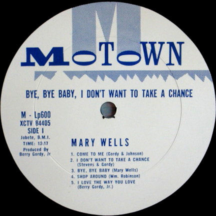 Motown Album Discography, Part 1 (1961-1981)
