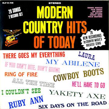 Starday Album Discography, Part 4